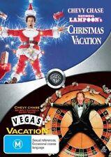 Christmas Vacation / Vegas Vacation (DVD, 2008, 2-Disc Set) Region 4 Comedy DVD