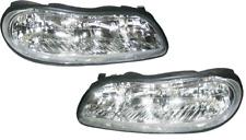 97-05 Malibu Cutlass Left & Right Headlight Headlamp Lamp Light Pair L+R