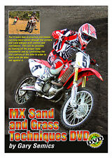 Motocross Sand & Grass Skills Techniques DVD by Gary Semics