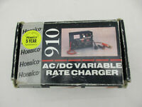 Hobbico 910 AC/DC Variable Rate Charger For R/C Batteries