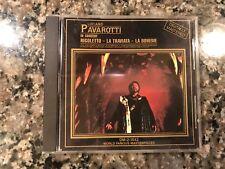 Pavarotti In Concert Cd! Rigoletto La Traviata La Boheme