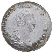SILVER - WORLD COIN - 1761 German States 8 Gute Groschen World Silver Coin *027