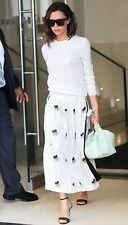 Victoria Beckham Runway Tissue Bag Tote S/S'17 Lamb Leather Floral $1920 RARE!