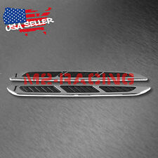 Universal Black ABS Air Fender Grill Body Side Vents For Car SUV Decoration