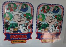 Nintendo Popeye Arcade Game Side art decal set