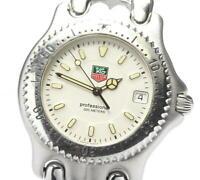 TAG HEUER s/el WG1112-K0 Date White Dial Quartz Men's Watch_561454