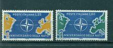Italie - Italy 1959 - Michel n. 1032/33 - 10 années de l'OTAN