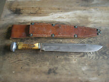 Symbulia Bowie knife, stag handle