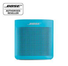 Bose Soundlink Colour ii Bluetooth Speaker - BLUE, Water Resistant, Lightweight
