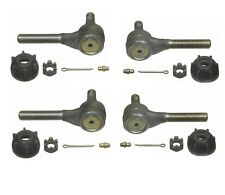 For Chrysler Cordoba Dodge Set of 2 PairS Front Inner /& Outer Tie Rod End Moog