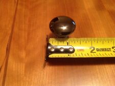 Belwith 780 NB Burnished/Black Nickle Pull Knob New Old Stock