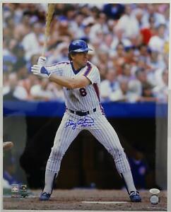 Gary Carter Autographed New York Mets 16x20 Photo (HOF 03) JSA HH11516
