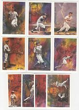 1993 Ted Williams Company Locklear Collection 10 Card Insert Set