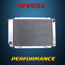 3-Row/CORE Aluminum Radiator For Ford Mustang Cougar Fairmont Granada MT 80-86