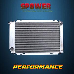 3-Row/CORE Aluminum Radiator For Ford Mustang Cougar Fairmont Granada MT 80-86
