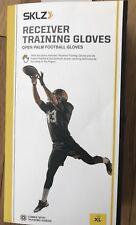 Sklz Receiver Training Gloves - Open Palm Football Gloves Xl New in Box