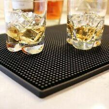 """Bar Service Rail Mat Rubber Runner Beer PVC Spill Mat Glass Placemat 3.15 x23.6"""""""