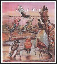 Liberia 2000 MNH SS, Tropical birds of the world, Scarlet Macaw Flycatcher (D2S)