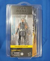 "Star Wars The Black Series 6"" figure Clone Wars AHSOKA TANO Walmart w Starcase"