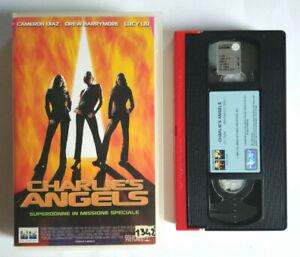 VHS Film Ita Commedia CHARLIE'S ANGELS Cameron Diaz ex nolo no dvd cd lp mc(V0)°