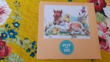 HANDMADE CARDS JUST FOR YOU FOAL & CHICKS BIRTHDAY