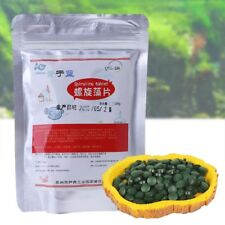 Spirulina Veggie Algae Wafers Tablets Aquarium Fish Food Tropical Fish Feed Home
