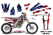 AMR Racing Honda CRF250X Graphic Decal Number Plate Kit Bike Sticker 04-15 USA