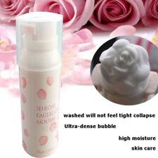 3D Rose Face Wash Foam Cleanser Whip Nourishing Blackhead Remover 150ml