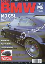 Total BMW Magazine September 2004  Z3M Roadster Hamann Hartge AC Schnitzer Dinan