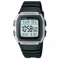 NEU Casio Schwarz Unisex Armbanduhr Casio Collection W-96H-1AVES