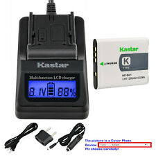 Kastar BatteryLCD Fast Charger for Sony NP-BK1 BC-CSK Sony Cyber-shot DSC-W370