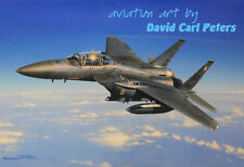 F-15E Strike Eagle... Aviation Art by David Carl Peters