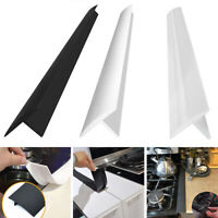 Rubber Kitchen Stove Counter Gap Cover Easy Clean Heat-resistant Protector Caps