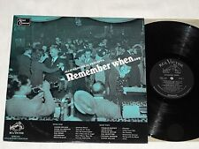 REMEMBER WHEN (1967) Mono RCA VICTOR LP for Allied Chemical