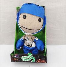 "Genuine Senario Little Big Planet 2 Sackboy Boxer Plush Doll Toy 7"" Kids Gift US"