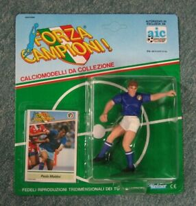 Italian Soccer Forza  Campioni!, Paolo Maldini, MIlan, Starting Lineup SLU, MOC