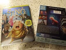 Sing (DVD)Special Edition-Includes 3 Mini Movies -Slipcover BRAND NEW FREE SHIP