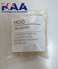 Thick Sausage Casings Hog Graded 38-42mm 10M Pack Butcher/Chef/Hunter/Salami