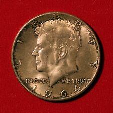 Half Dollar 1964 USA John F. Kennedy Silber Silver