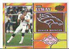 John Elway 1998 Pacific Team Checklist SP Insert #9 DENVER BRONCOS