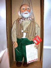 Sigikid Künstlermarionette Opa von Gabriele Brill Marionette Limitiert 15/1000