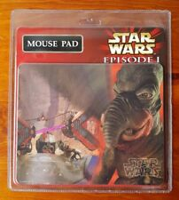 Vintage Star Wars Episode 1 Mouse Pad New and Sealed PC Computer Collectable