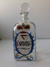 """Old Holmegaard Chemist bottle.""""Carbunc"""".1975-99. 21 cm tall.Limited issue."""