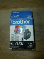 Genuine Brother Black LC41BK Ink Cartridge Free Shipping!