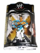 WWE SHAWN MICHAELS HAND SIGNED CLASSIC SERIES 1 ACTION FIGURE WITH PROOF AND COA