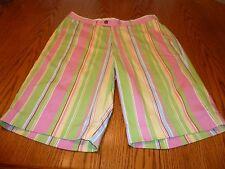 Men's Loudmouth Golf Shorts, MultiColor, Cotton Blend, Size 34, GUC