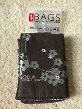 golla Brown Mobile Bag NWT