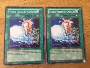 2 X Hydro Pressure Cannon Yugioh Trading Card ANPR-EN055 Spell Card