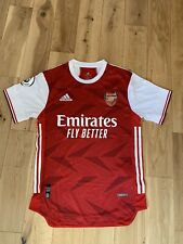 20/21 Arsenal Player Edition Home Adidas Jersey