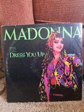 Madonna Maxi Single Record Album O-20369 Ex Condition 1984 Dress You Up